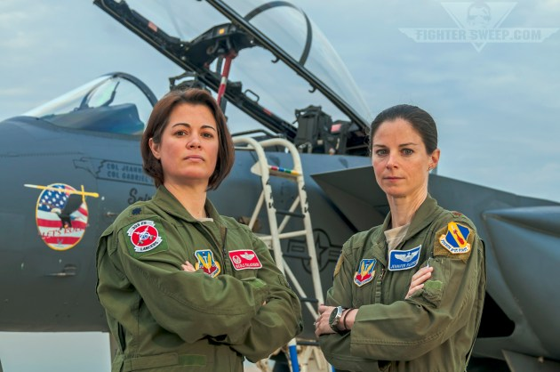 These two Strike Eagle pilots flew together during a particularly historic time in Operation Iraqi Freedom.