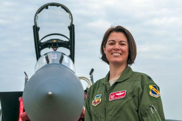 "Now-Colonel Nicole ""FIFI"" Malachowski, F-15E Strike Eagle Pilot. Leader of Airmen."