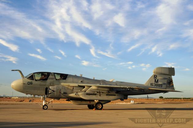 USMC EA-6B 163889 (VMAQ-4 RM-06) (LS4) [NYL 18Oct2012] -           Curt Jans