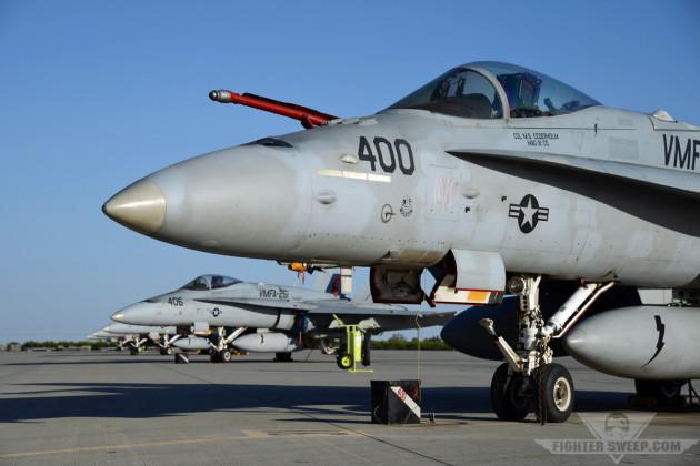 USMC FA-18C 164881 (VMFA-251 AB-400) (LF7) [NYL           11Apr2013] - Curt Jans