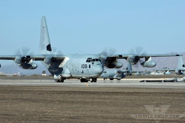 USMC KC-130J 167108 (VMGR-252 BH-108) (RF4) [NYL           12Apr2013] - Curt Jans