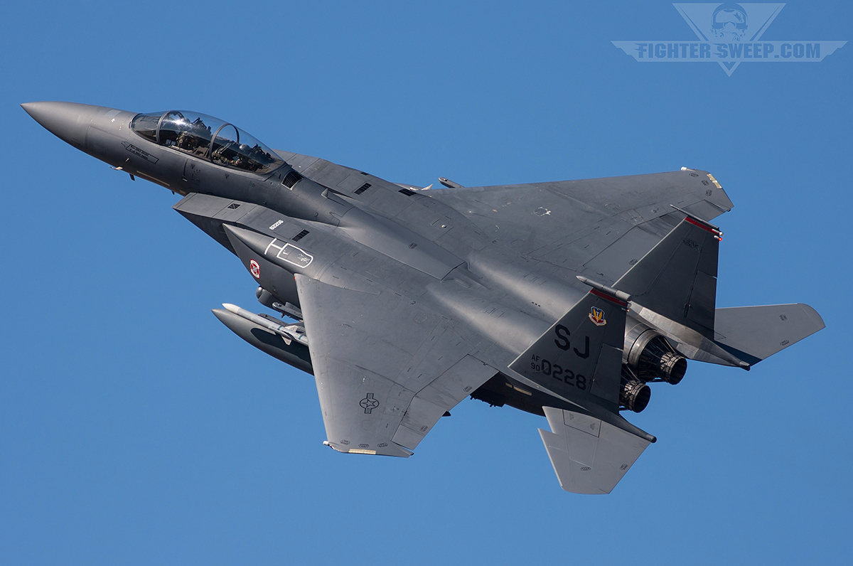 Photo Gallery Boeing F 15e Strike Eagle Fighter Sweep