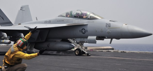 Boeing F/A-18F Super Hornet Down