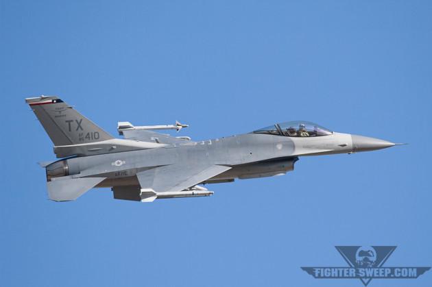 ACC: Nellis F-16 Collision Due To Pilot Error