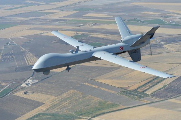 An Italian Air Force MQ-9 Reaper. (Photo Courtesy of General Atomics)