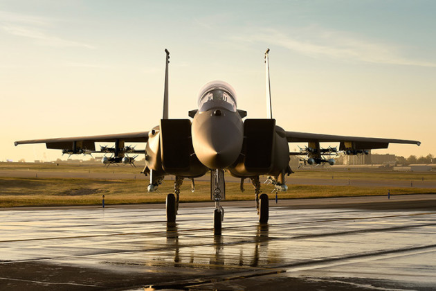 A Boeing F-15SA loaded with sixteen air-to-air missiles and equipped with the most advanced radar and sensors currently available to the type. (Photo courtesy of Boeing Defense)