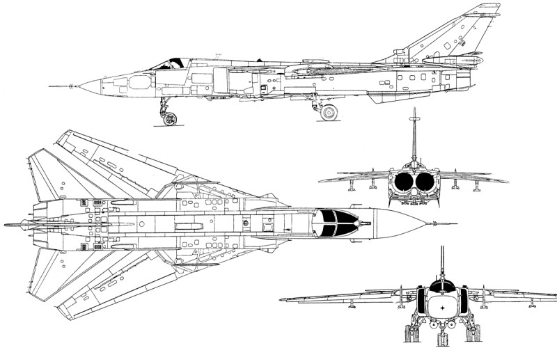 Head To Head: Turkish F-16C versus Russian Su-24M | Fighter