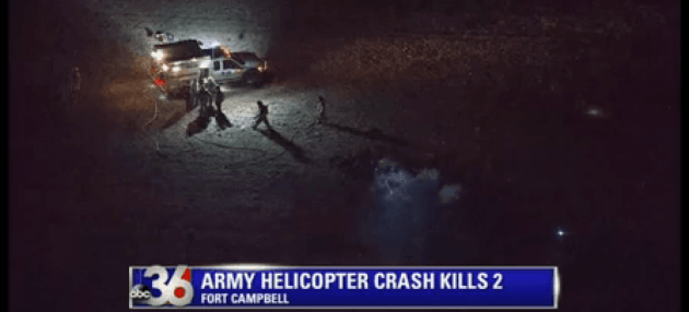 AH-64D Apache crew killed in crash.