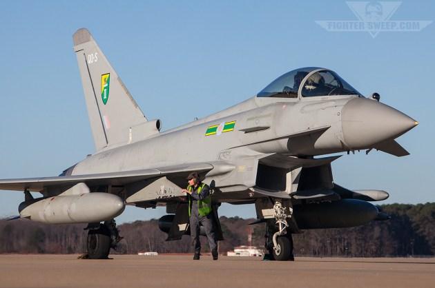 Royal Air Force Intercept Russian Aircraft in Baltic