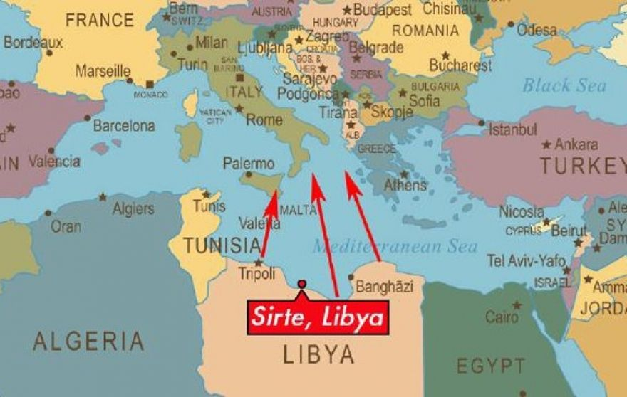 Libya To Italy Map.Daesh Training Pilots At Libyan Air Base Fighter Sweep
