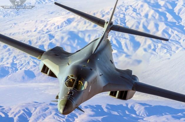 B-1B Lancers Downrange: Taking The Fight To Daesh
