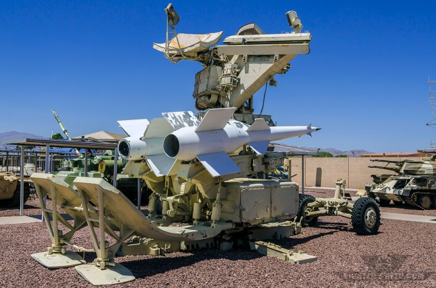 """The S-125 """"Neva""""/SA-3 """"Goa"""" Surface to Air Missile system. (Photo by Scott Wolff)"""