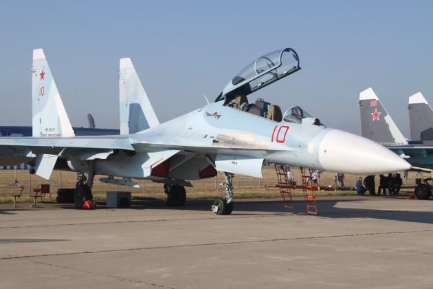 Sukhoi Su-30M2 Advanced Flanker. (Photo courtesy of Wikimedia Commons)