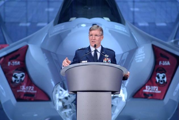 Goldfein: Daesh, Russia Big Factors In A-10 Decision