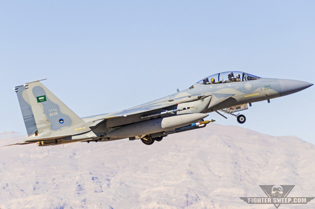 RSAF Deploys Fighter Jets From Saudi Arabia To Turkey