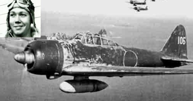 Pilot Shoots Down A Japanese Zero With A Pistol?