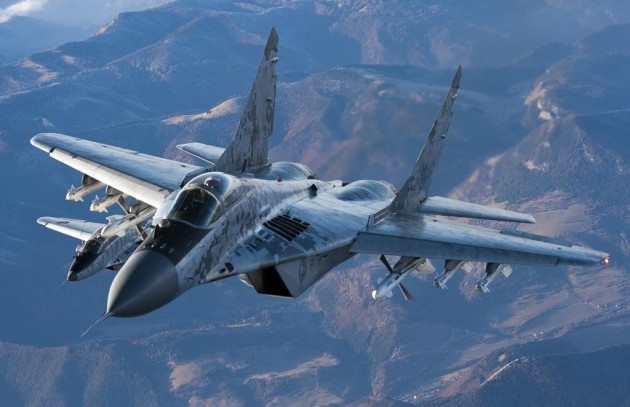 MiG-29 Fulcrum. (Photo courtesy of UberGizmo.com)