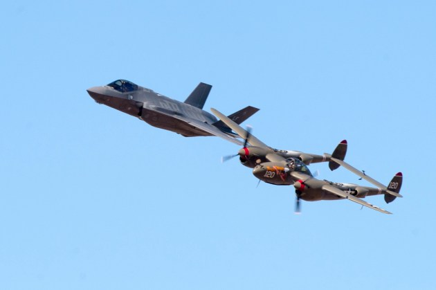 F-35 Completes Heritage Flight Certification!