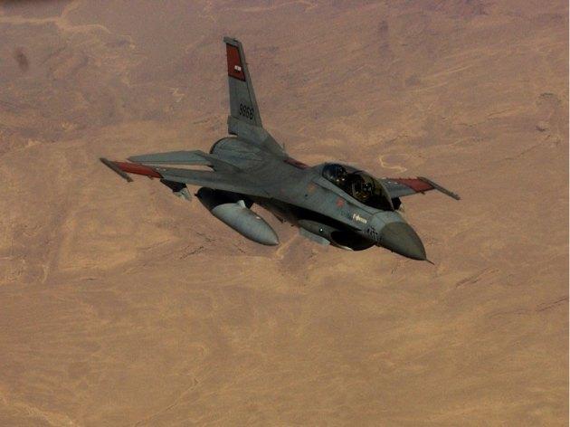 Egyptian Air Force Strikes Daesh In Sinai