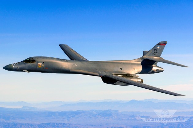 Air Force: F-16s Fly The Most, B-1s Drop The Most