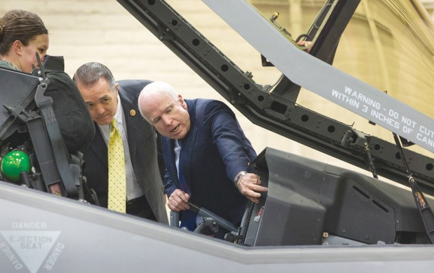 "John McCain on F-35: ""A Scandal And A Tragedy"""