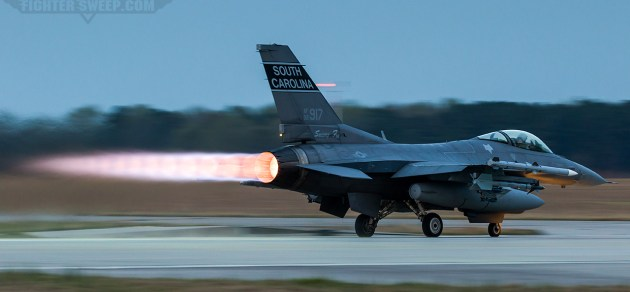 Burner Friday: Swamp Fox F-16CJ
