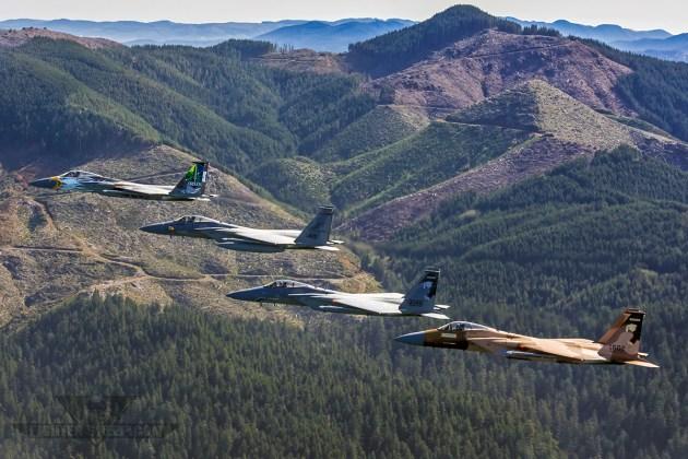 75th Anniversary Eagles Over Oregon!