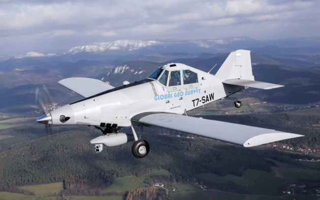 Prince's private air force consists of modified Thrush 510Gs like these. (Photo courtesy of The Intercept)