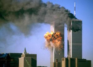 World Trade Center on 9-11, Credit: theatlantic.com