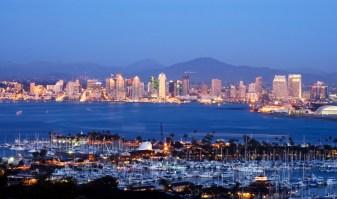 San Diego at Night, credit: atlantic.lv