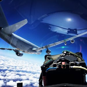 Air to Air refueling. Photo Bremont Military