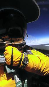 A U2 pilot and his Bremont, Photo credit: Bremont military