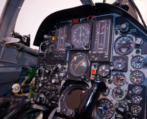 The F-105 Instrument panel and the T concept. (Credit: divemasterking2000)