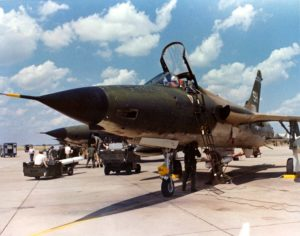 F-105 manned