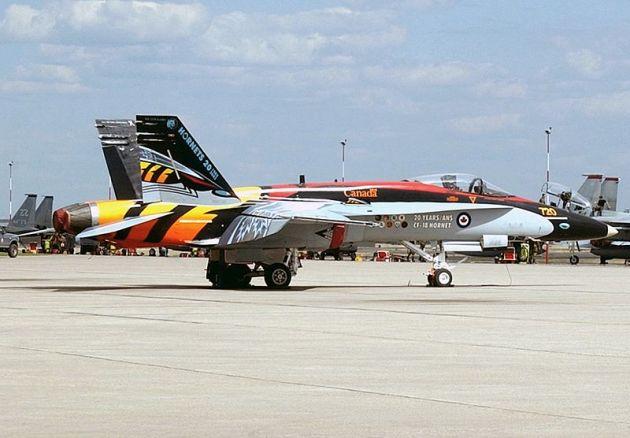 20 Years Anniversary CF-18 Hornet