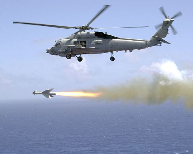 us navy seahawk missile fire