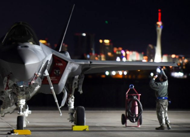 F-35A premieres at Red Flag 17-1
