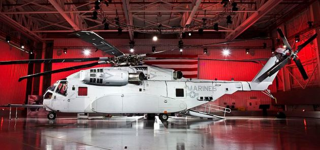 CH-53K_King_Stallion_Rollout