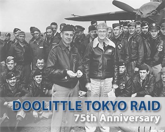 Doolittle Raider-75th Anniv