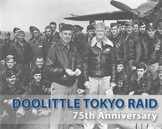 Doolittle Raider-75th Anniv