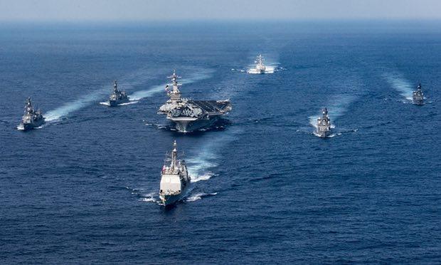 Nimitz-class aircraft carrier USS Carl Vinson