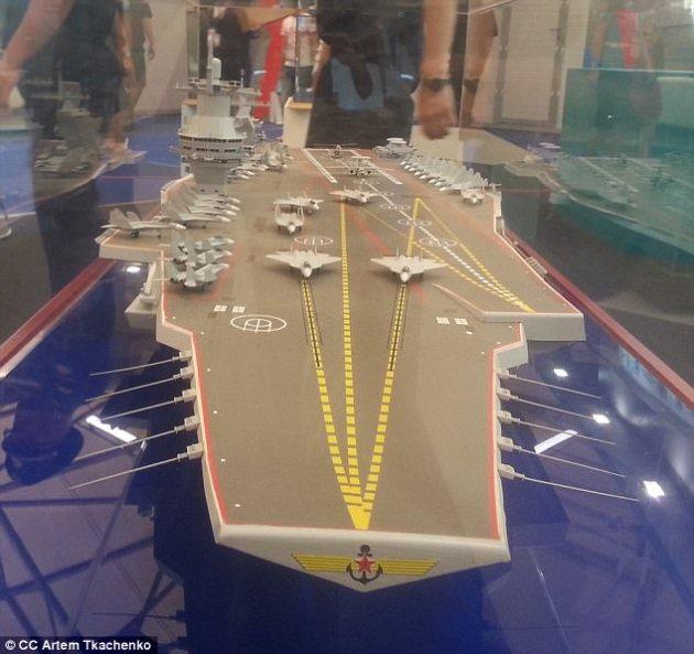 Shtorm class russian aircraft carrier worlds biggest