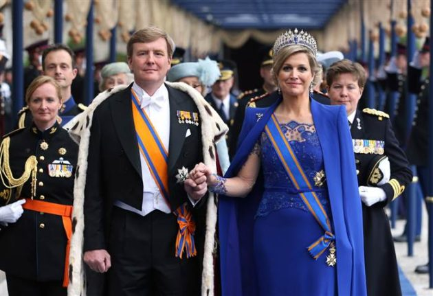 King Willem-Alexander of the Netherlands and Queen Maxima of the Netherlands