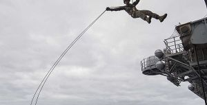 31st MEU Fast Roping and Rappelling