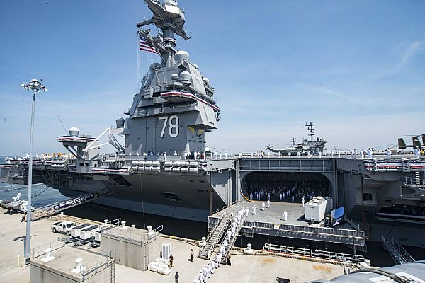 uss gerald ford commissioning