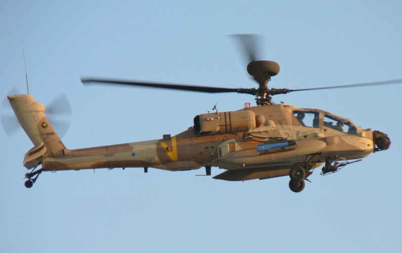 AH-64D Apache Longbow AKA Saraf crash pilot killed