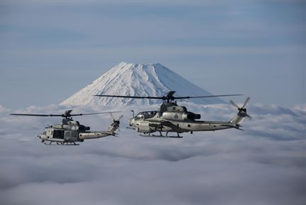 Marine Light Attack Helicopter Squadron 267 uh-1y