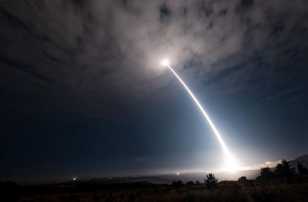 Minuteman III intercontinental ballistic missile