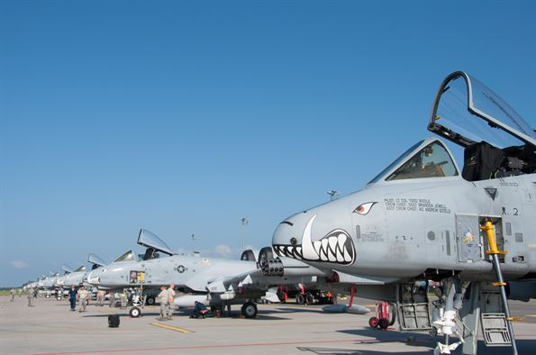 US European Command to Send 10 A-10 Thunderbolts to Estonia to Support Allies