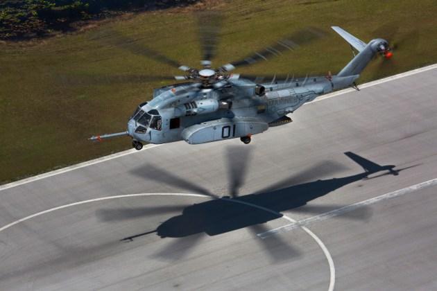 The CH-53K King Stallion
